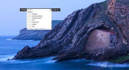Bing Desktop Suche