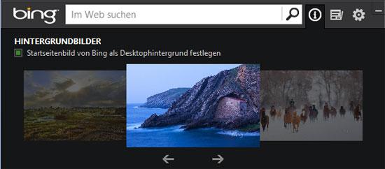Bing Desktop Info